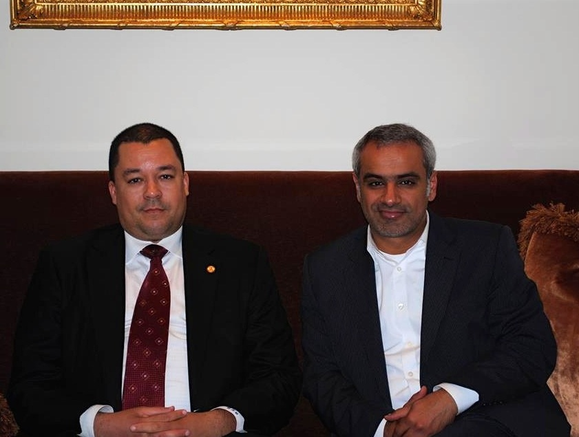 Master Al-Nasser Meets Newly Appointed UAE General Consul To Los Angeles