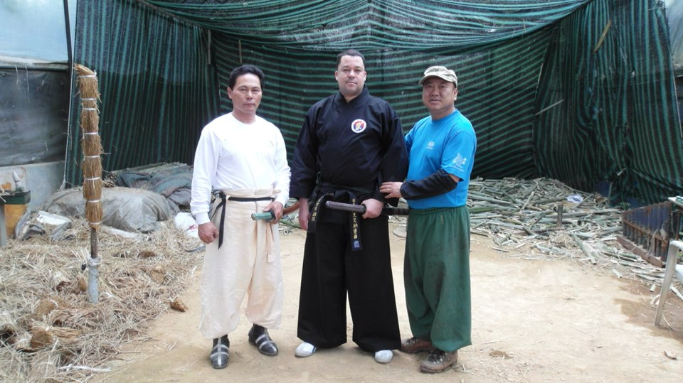 KJN Al-Nasser Trains With Lee Jeong Jik