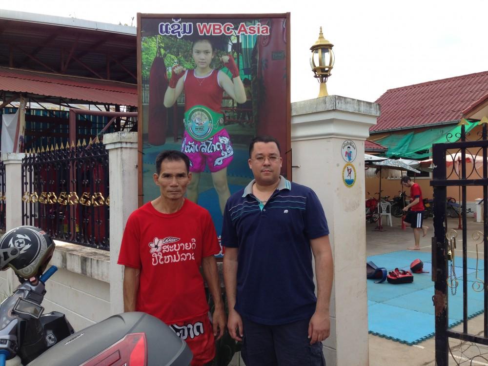 KJN Al-Nasser Visits the Khoun Chai Sikkot Boxing Club